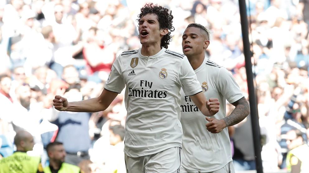 Vallejo celebra un gol. (Getty)