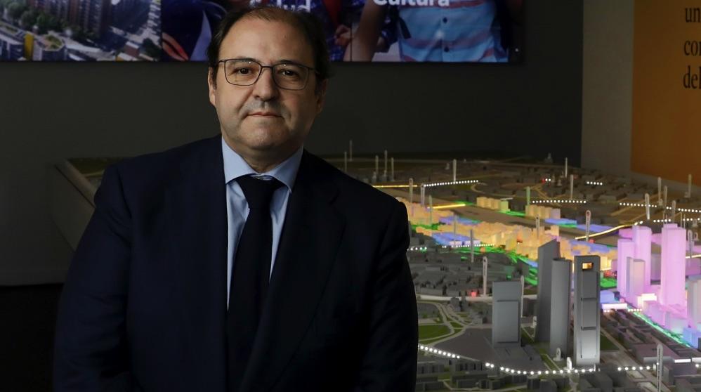 Antonio Béjar, ex presidente de Distrito Castellana Norte. (Foto. DCN)
