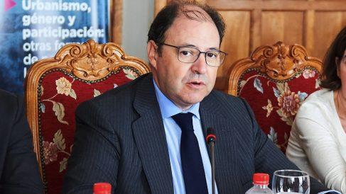 Antonio Béjar, ya ex presidente de Distrito Castellana Norte. (Foto. DCN)