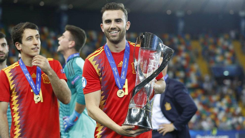 Borja Mayoral se proclama campeón de Europa Sub-21 con España (@Mayoral_Borja)