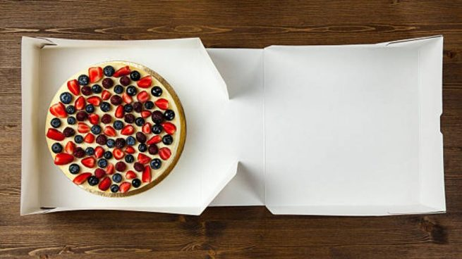 C mo hacer una caja para un pastel original paso a paso de for Como aser un criadero de mojarras