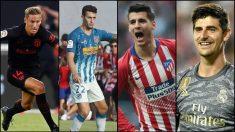 Marcos Llorente, Mario Hermoso, Morata y Courtois se enfrentan a su ex equipo.