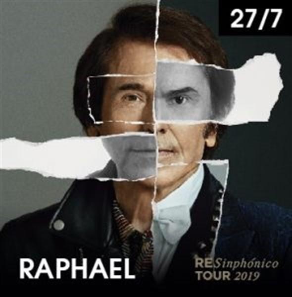 El cartel del nuevo trabajo de Raphael 'RESinphónico'