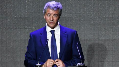 Miguel Ángel Gil durante un acto. (AFP)