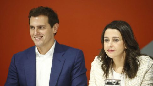 Inés Arrimadas y Albert Rivera. (EP)
