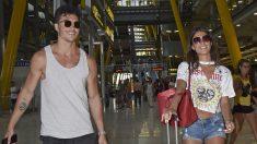 Kiko y Sofía en el aeropuerto