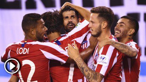 Real Madrid – Atlético: resumen del partido de la International Champions Cup 2019 (3-7).