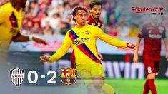 El Barcelona venció al Vissel Kobe. (FCBarcelona)