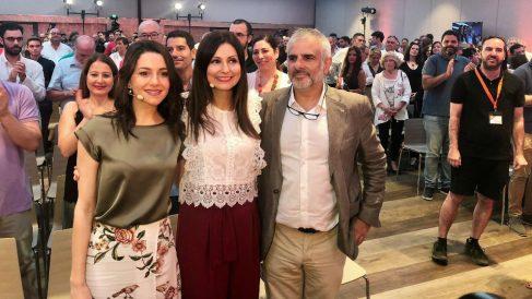 Inés Arrimadas en el acto de presentación de Lorena Roldán. Foto: Europa Press