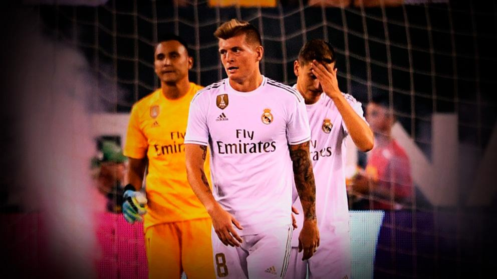 El Real Madrid no levanta cabeza esta pretemporada.