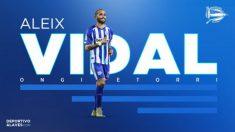 Aleix Vidal, nuevo fichaje del Alavés (Deportivo Alavés)