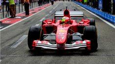 Mick Schumacher conduce el F2004 en Hockenheim. (Scuderia Ferrari)