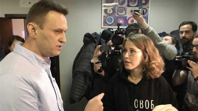 El opositor ruso Alexéi Navalni fue