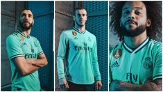 Así es la tercera camiseta del Madrid para esta temporada. (realmadrid.com)