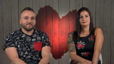 Marta y Sergio en la decisión de 'First Dates'