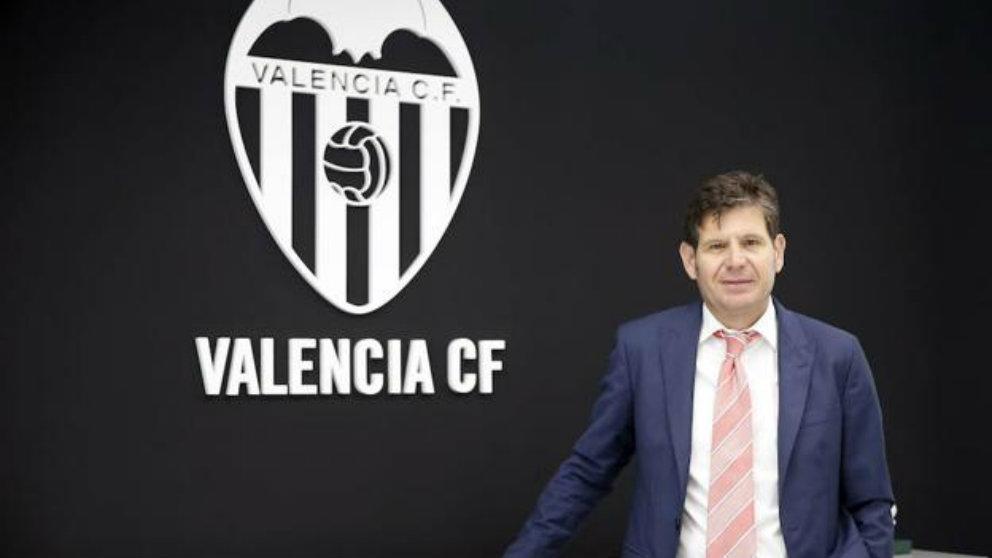 Mateu Alemany, director general del Valencia (EFE)