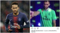 El guiño de Neymar al Madrid.
