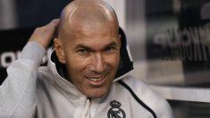 Zidane, en el duelo ante el Atlético