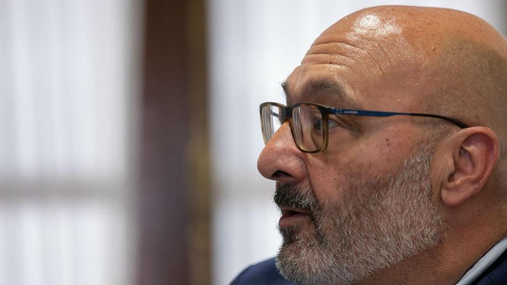 Alejandro Hernández, portavoz de Vox en Andalucía. (Ep)