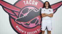 Aurelie Kaci es nueva jugadora del Tacón. (Foto: CD Tacón)