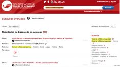 La biblioteca virtual de Miguel de Cervantes con las búsquedas de «Corona catalanoaragonesa».