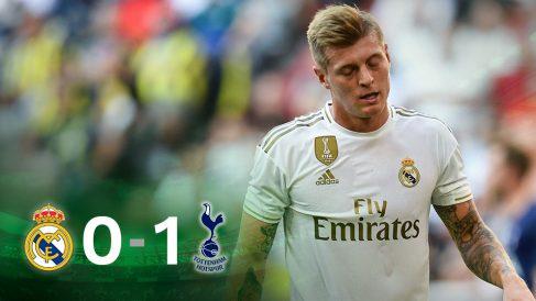 Kroos se lamenta tras no cuajar un partido en Múnich.