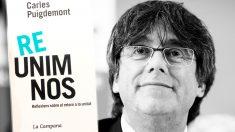 Portada del nuevo libro de Carles Puigdemont.