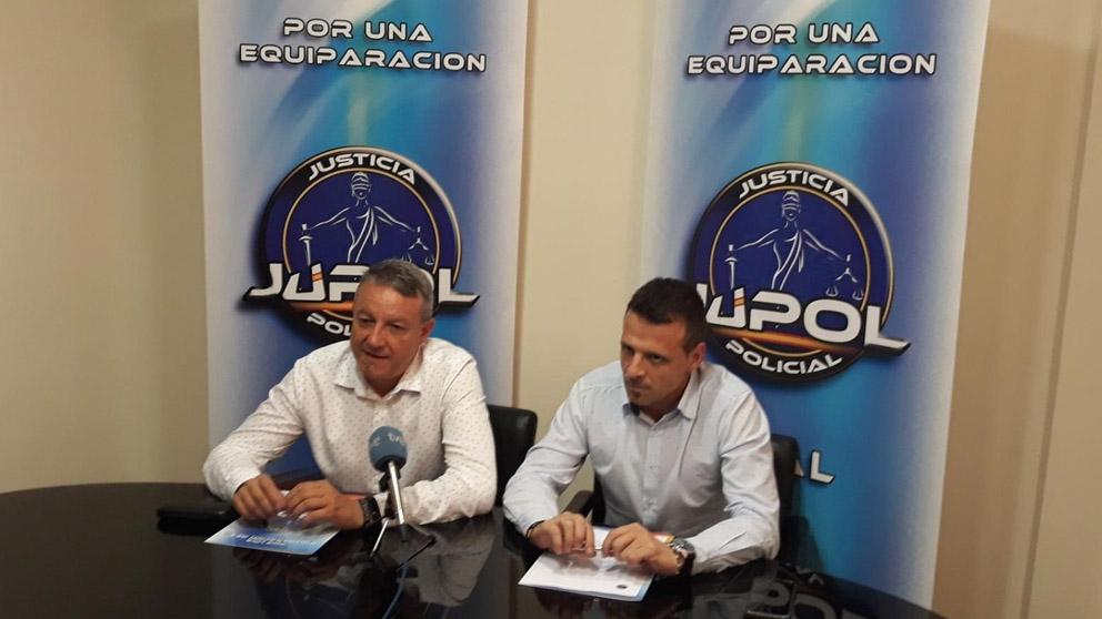 José María García, secretario general de Jupol (Foto: EP)