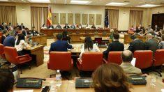 La Diputación Permanente del Congreso en una de sus reuniones. (Ep)