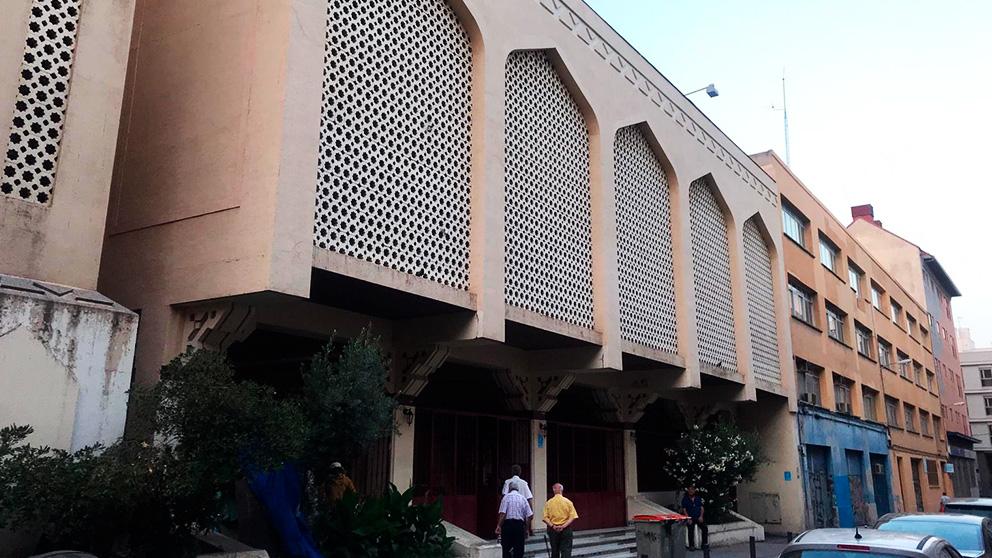 La Mezquita Central de Madrid situada en el barrio de Tetuán, de la que ha sido administrador Fares Kutayni, detenido por financiar a Al Qaeda.