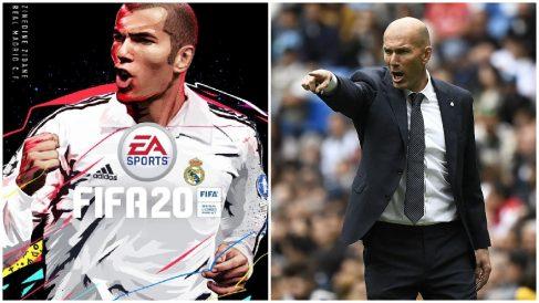 Zidane será portada del FIFA 20.