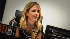 Cayetana Álvarez de Toledo en la reunión plenaria del Grupo Parlamentario Popular en el Congreso de los Diputados. (Foto. PP)