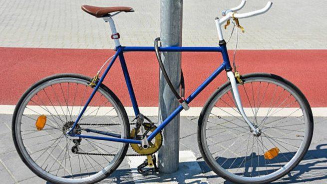 candado o cerradura para bicicleta