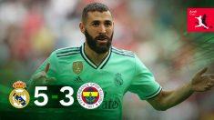 Karim Benzema se salió contra el Fenerbahce.