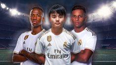 Los jóvenes ilusionan al Real Madrid.