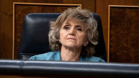 La Ministra María Luisa Carcedo en el Congreso @Getty