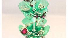 Pasos para hacer un joyero con botellas de plástico
