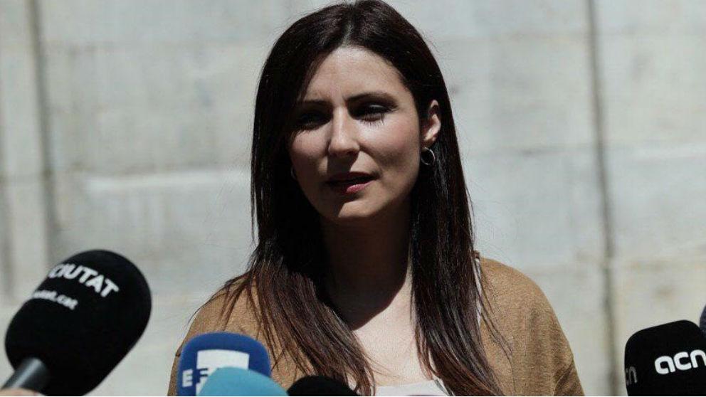 Lorena Roldán. líder de C's en Cataluña. Foto: Europa Press