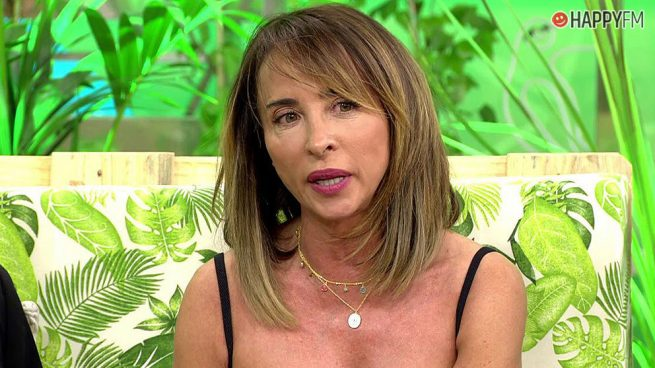 María Patiño abandona indignada el plató de 'Sálvame' tras este comentario de Chelo