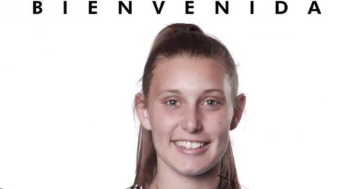 Ana Valles, nueva jugador del Tacón. (CD Tacón)