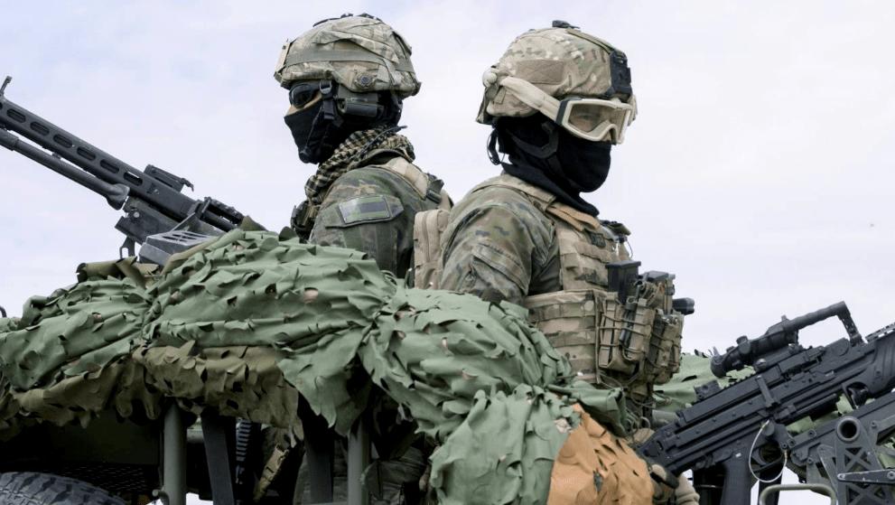 Militares del Ejército de Tierra. Foto: EFE.