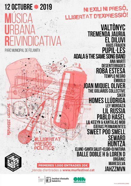El Govern de Armengol paga 12.499€ por un concierto del fugado Valtonyc en el Día de la Hispanidad