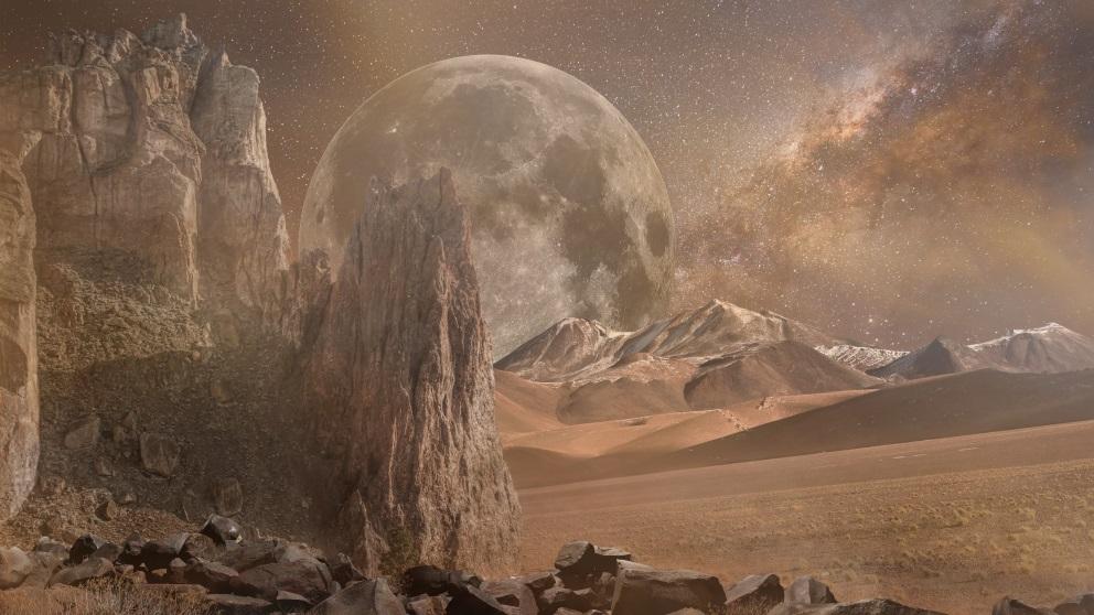 Marte es también conocido como «El planeta rojo»
