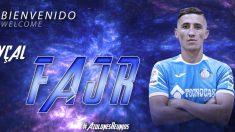 Fayçal Fajr, nuevo jugador del Getafe (Getafe Club de Fútbol)