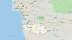 Localización de Tijuana en el mapa