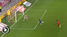 El espectacular gol de Pedro con el Chelsea.