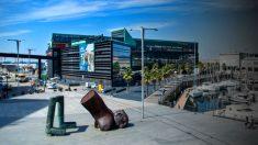El centro comercial A Laxe de Vigo.