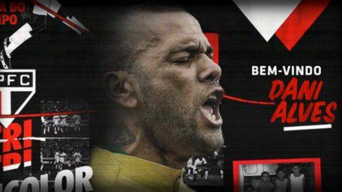 Dani Alves ficha por el Sao Paulo (@SaoPauloFC)