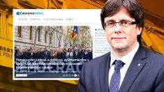 La Generalitat creó la web Catalonia Votes a través del Diplocat.