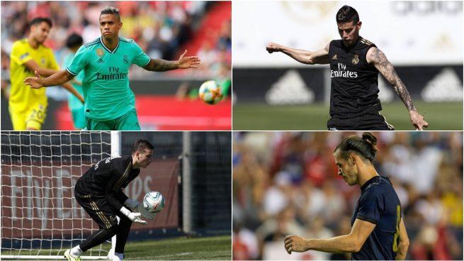 Mariano, James, Lunin y Bale